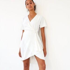 White Babaton Wallace Dress